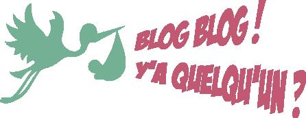 Blog Blog ! Y'a quelqu'un ?