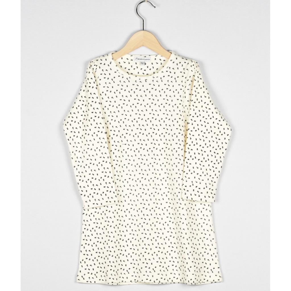 chemise-de-nuit-ecru-imprime-fleurs-marine