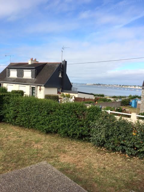 La vue depuis le jardin !