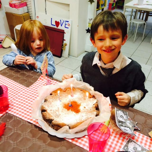 un anniversaire à l'atelier lollipop
