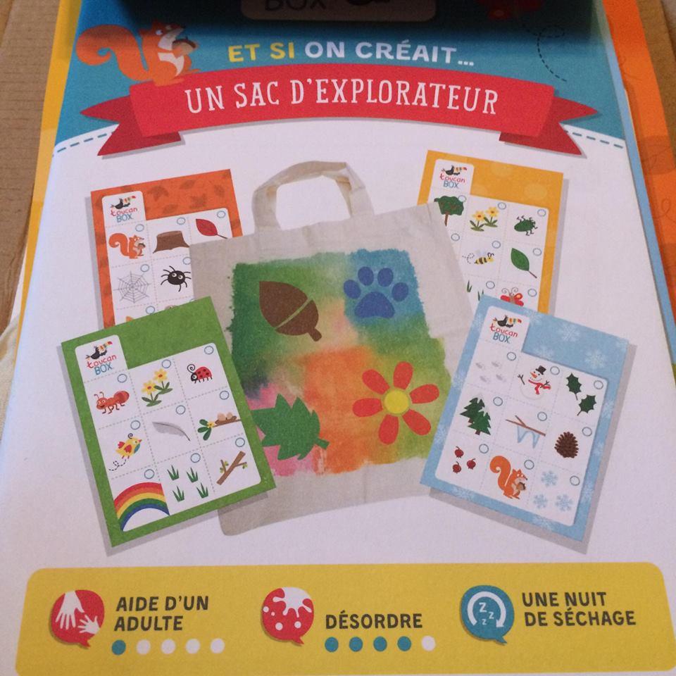 kits créatifs toucanbox